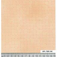 Отрез ткани персиковый, коллекция Точка к точке