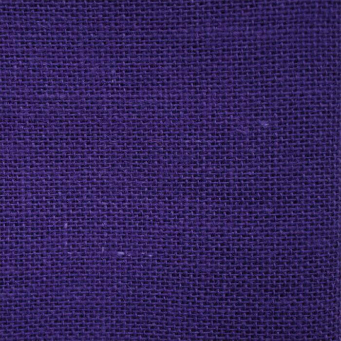 Отрез ткани рогожка фиолетового для скрапбукинга