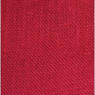 Отрез ткани рогожка красная