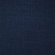 Отрез ткани рогожка синяя