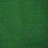 Отрез ткани рогожка зелёная