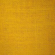 Отрез ткани рогожка жёлтая