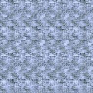 Отрез ткани синее плетение, коллекция Элементы эклектики
