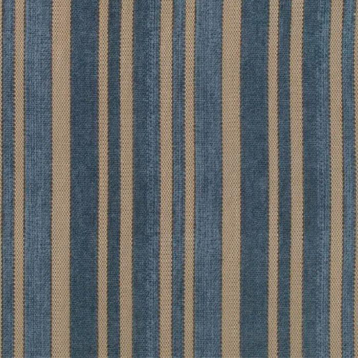 Отрез ткани синие полосы, коллекция Элементы эклектики для скрапбукинга