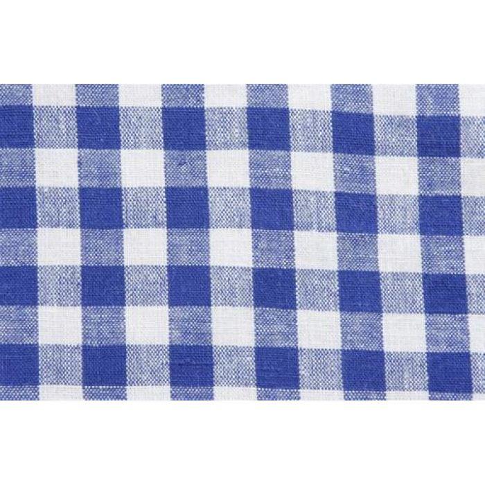 Отрез ткани синий, коллекция кухонная клетка для скрапбукинга