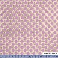Отрез ткани светло-лиловые горошки, коллекция Цыганский карнавал