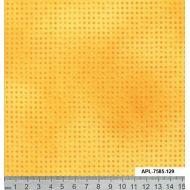 Отрез ткани жёлтый, коллекция Точка к точке