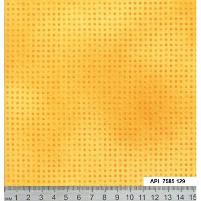Отрез ткани жёлтый, коллекция Точка к точке для скрапбукинга