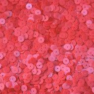 Пайетки глянец коралловые 6мм