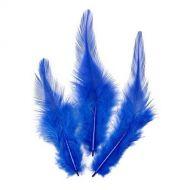 Перья петушиные синие