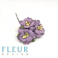 Пионы фиолетовые 3,5 см