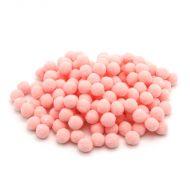 Помпоны персиковые 1 см