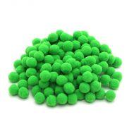 Помпоны ярко-зелёные 1 см