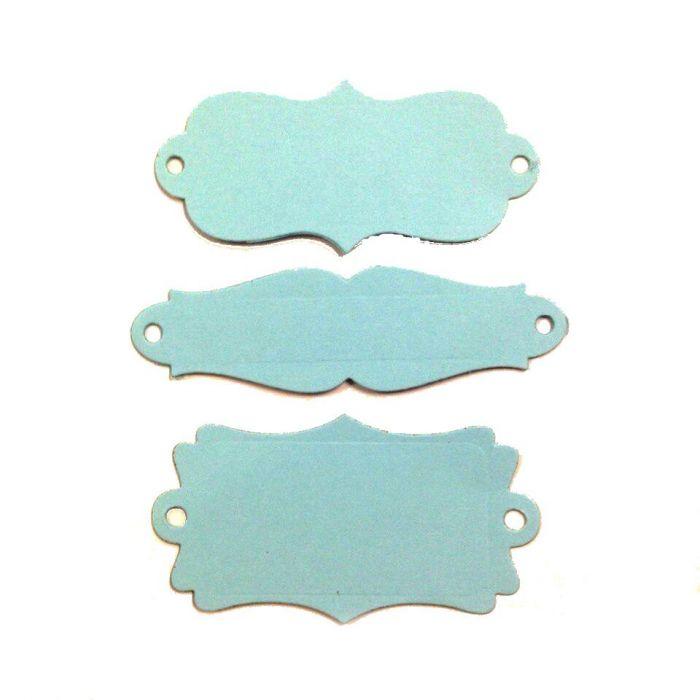 Рамки, вырубка из голубого картона для скрапбукинга