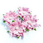Розовые гардении 5-6 см