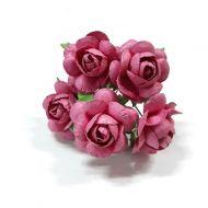 Розы амарант 25 мм