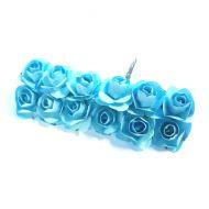 Розы голубые 15 мм