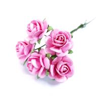 Розы розовые 18 мм