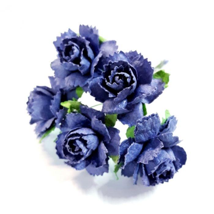 Розы сизые 25 мм для скрапбукинга