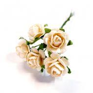 Розы слоновой кости 12 мм