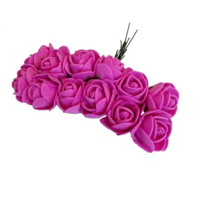 Розы ярко-розовые для скрапбукинга