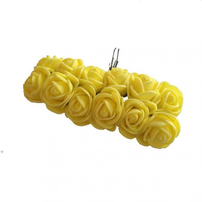 Розы жёлтые для скрапбукинга