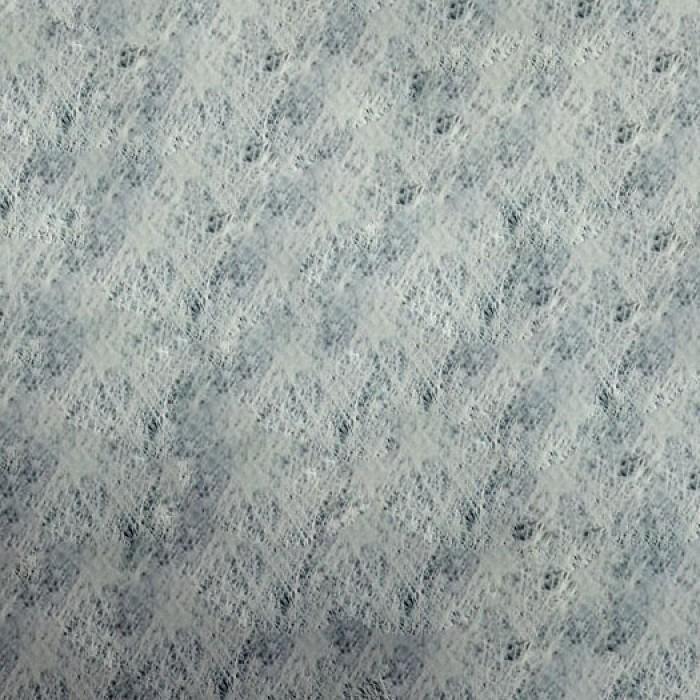 Серебряная заготовка с белыми волокнами для открытки А6 для скрапбукинга