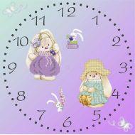Схема часы зайки Ми