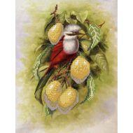 Схема птичка с лимонами