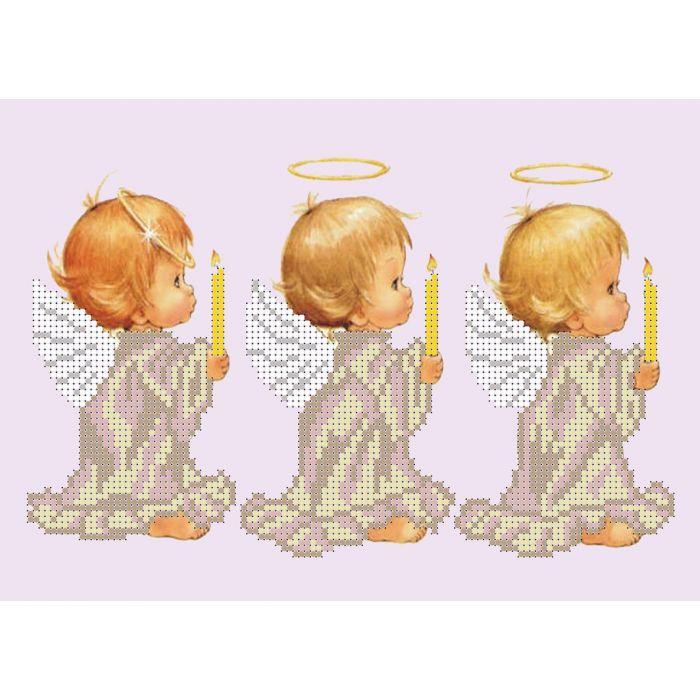Набор три ангела для скрапбукинга
