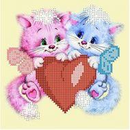 Схема влюбленные котики