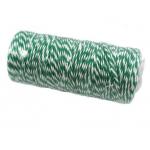 Шнур бело-зелёный