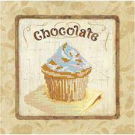 Схема шоколадный кекс