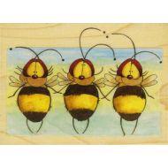 Штамп резиновый Пчёлы