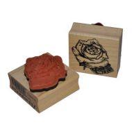 Штамп резиновый Роза