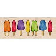 Штамп резиновый Ряд мороженого