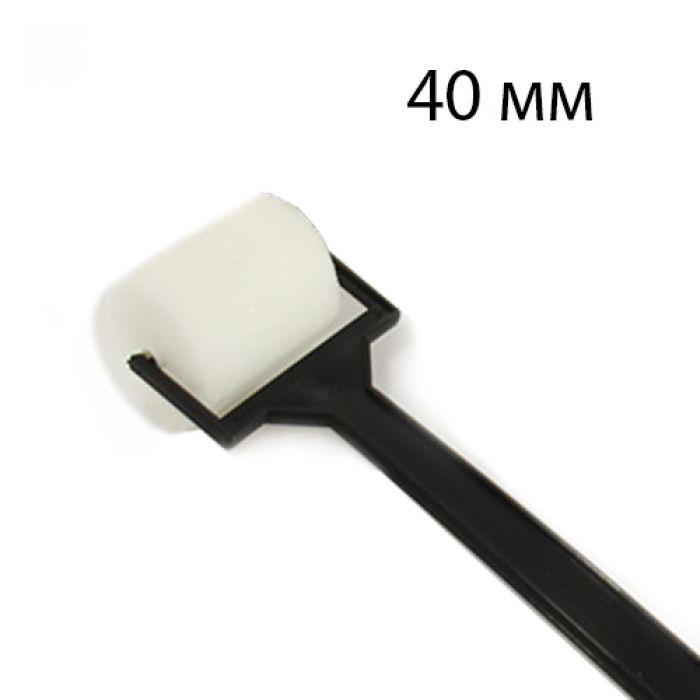 Спонж-ролик 4см с пластиковой ручкой для скрапбукинга