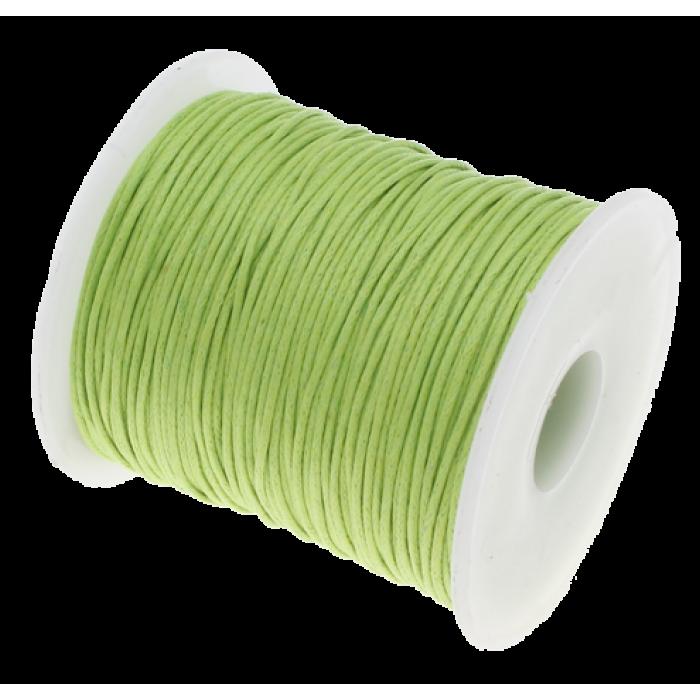 Лаймовый вощёный шнур для скрапбукинга