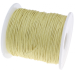 Светло-жёлтый вощёный шнур