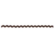 Тесьма вьюнчик коричневый