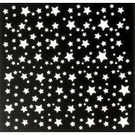 Трафарет звёзды 15х15 см