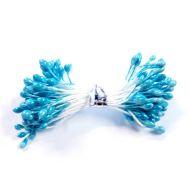 Тычинки ярко-голубые 3 мм