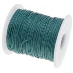Тёмно-зелёный вощёный шнур