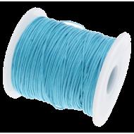 Ярко-голубой вощёный шнур