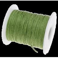 Зелёный вощёный шнур