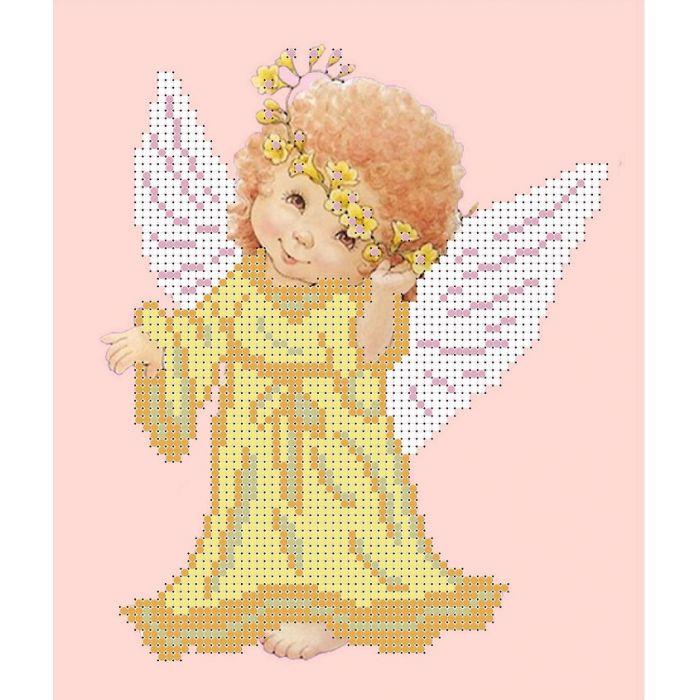 Набор желтый ангел для скрапбукинга