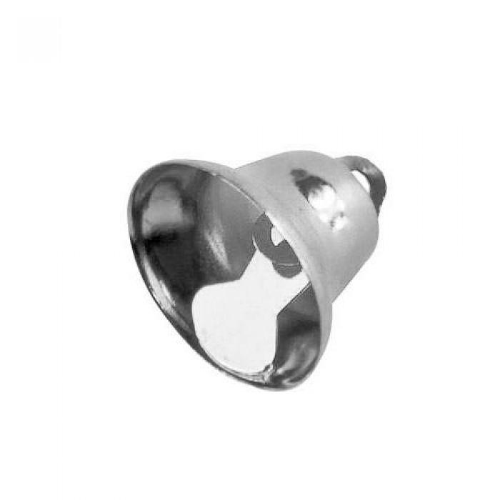 Колокольчик серебряный 22 мм для скрапбукинга