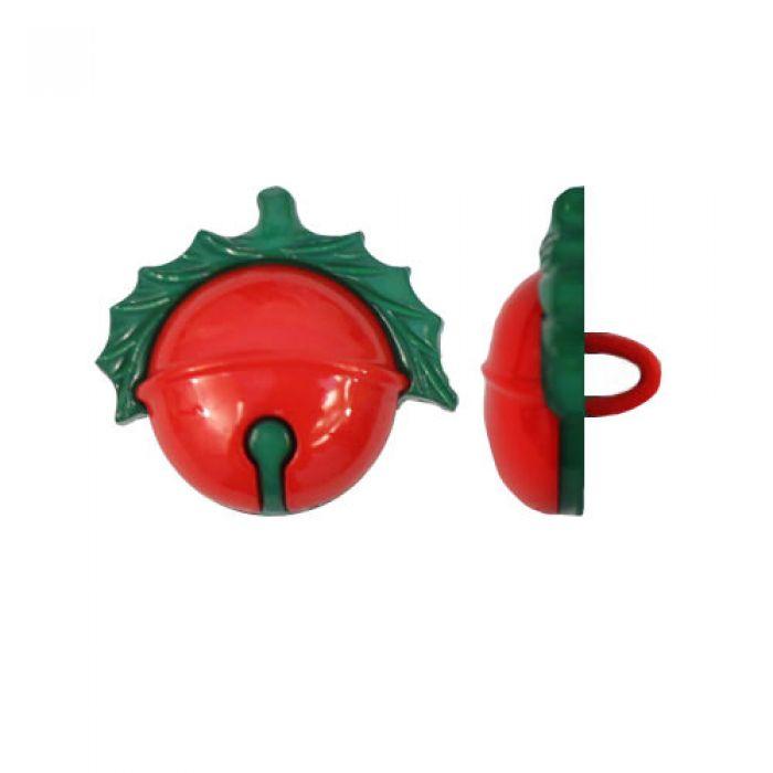 Пуговица бубенчик 21 мм для скрапбукинга