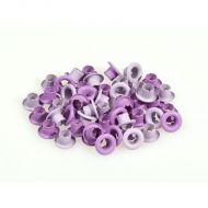 Набор лиловых люверсов 4,8 мм