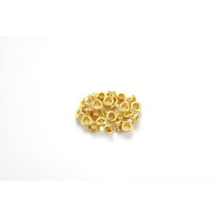 Золотые люверсы 4,8 мм для скрапбукинга
